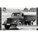 Советский грузовой автомобиль ГАЗ-51 (MW7208) Масштаб:  1:72