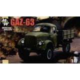 Советский грузовой автомобиль ГАЗ-63 (MW7218) Масштаб:  1:72