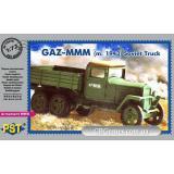 Советский грузовой автомобиль ГАЗ-MM (1943) (PST72078) Масштаб:  1:72