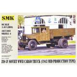 Советский грузовой автомобиль ЗИС-5 В (1943 средне-производственный тип) (SMK87302) Масштаб:  1:87