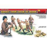 MA35153  Soviet Tank Crew at Work. Special Edition