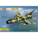 Советский учебно-тренеровочный самолет Сухой Су-7У (MSVIT72005) Масштаб:  1:72