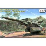 Советский зенитный ракетный комплекс SA-75 Dvina / SA-2 Guideline (ZZ87011) Масштаб:  1:87