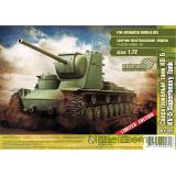 Сверхтяжелый танк КВ-5 (ZEB-SEA025) Масштаб:  1:72