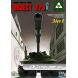 Танк Объект 279 (3 в 1) (TAKOM2001) Масштаб:  1:35