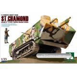 Танк St.Chamond ранний (TAKOM2002) Масштаб:  1:35