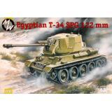 Танк T-34 с 122 мм самоходным орудием D-30 (MW7232) Масштаб:  1:72