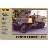 ТММ3М Танковый мостоукладчик (SMK87102) Масштаб:  1:87