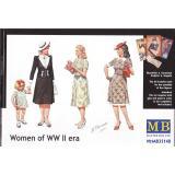 Женщины Второй мировой войны / Women of WWII (MB35148) Масштаб:  1:35