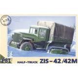 ZiS-42/42M WWII Soviet half-truck (PST72032) Масштаб:  1:72
