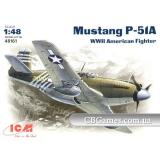 ICM48161  P-51A WWII USAF fighter