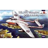 Английский реактивный истребитель DH.100 Vampire (AMO72264) Масштаб:  1:72