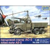 Авиастартер АС-2 на базе грузовика ГАЗ-ААА (UM506) Масштаб:  1:48