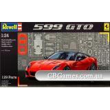 Автомобиль Ferrari 599 GTO (RV07091) Масштаб:  1:24
