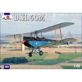 Биплан de Havilland DH.60M Metal Moth (AMO4804) Масштаб:  1:48