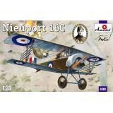 Биплан Nieuport 16C (A134) (AMO3201) Масштаб:  1:32