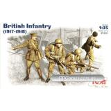 ICM35301  British infantry, 1917-1918 (Фігури)