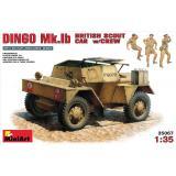 MA35067  British scout car DINGO Mk.1b with crew (Авто)