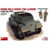 MA35074  DINGO Mk.II scout car with crew / Pz.Kmpf. Mk.I 202 (e) (Авто)