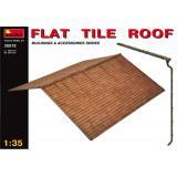 MA35518  Flat tile roof