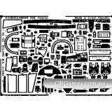 Фототравление 1/48 Буканир интерьер (рекомендовано для Airfx) (EDU-48132) Масштаб:  1:48