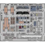 Фототравление 1/48 Fw 189A-1 интерьер (рекомендовано для GREAT WALL HOBBY) (EDU-FE578) Масштаб:  1:48