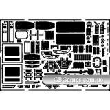 Фототравление 1/72 UH-1B (рекомендовано для Italeri) (EDU-72195) Масштаб:  1:72