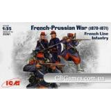 ICM35061  French Line Infantry (Фігури)