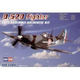 Французский истребитель D.520 (HB80237) Масштаб:  1:72