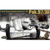 Германская 75мм противотанковая пушка Pak.97/38 (ACE72223) Масштаб:  1:72