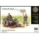 Германские мотоциклисты, 1940-1943 (MB3539) Масштаб:  1:35