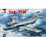 Истребитель Яковлев Як-25M (AMO72143) Масштаб:  1:72