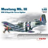 ICM48123  Mustang Mk.III WWII RAF fighter