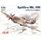 ICM48065  Spitfire Mk.VIII WWII USAF fighter