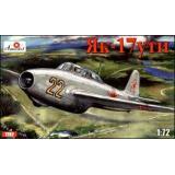 Як-17УТИ Учебно-тренировочный самолет (AMO7282) Масштаб:  1:72