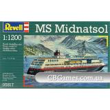 Корабль MS Midnatsol (RV05817) Масштаб:  1:1200