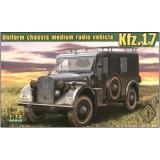 Машина радио связи Kfz.17 (ACE72260) Масштаб:  1:72