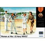 MB3556 Women at War: US Navy WAVES (MB3556) Масштаб:  1:35
