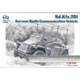 ICM72441  Sd.Kfz.261 WWII German radio car