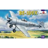 Немецкий экспериментальный самолет Bf-109X (AMO72191) Масштаб:  1:72