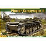 Немецкий инженерный танк Pionier Kampfwagen II (ACE72272) Масштаб:  1:72
