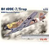 ICM72133  Messerschmitt Bf-109 E7/Trop fighter
