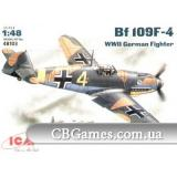ICM48103  Messerschmitt Bf-109 F4 WWII German fighter