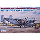 Патрульный самолет М-28V Bryza-1R/M28 Skytruck (EE14445) Масштаб:  1:144
