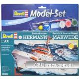Подарочный набор с кораблем DGzRS Hermann Marwede (RV65812) Масштаб:  1:200