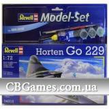 Подарочный набор с самолетом Horten Go 229 (RV64312) Масштаб:  1:72