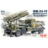 ICM72591  BM-24-12 Soviet rocket volley system