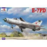 Самолет Е-7ПД (E-7PD) (AMO72221) Масштаб:  1:72