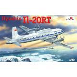 Самолетный измерительный пункт Ильюшин Ил-20РТ (AMO72021) Масштаб:  1:72