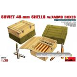 MA35073  Soviet 45-mm shells with ammo boxes